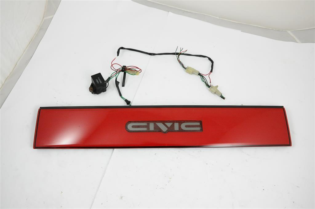 Rare Jdm Ef Civic Light Up Emblem Garnish Hatch 88